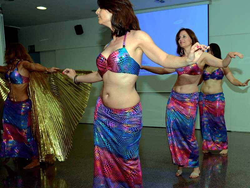 Danza del vientre para despedidas