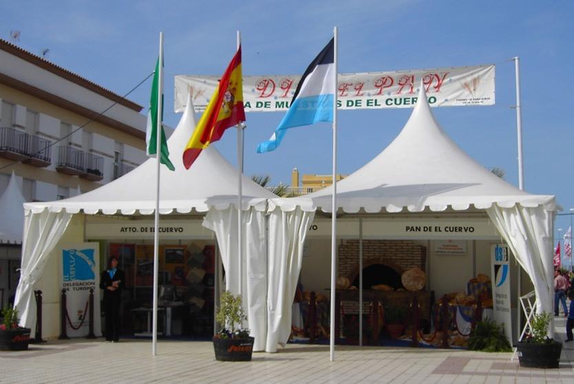 Carpas y toldos en Sevilla