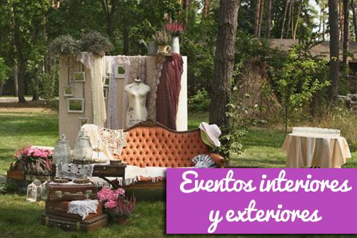 ambientación exteriores y decoración para eventos de empresa