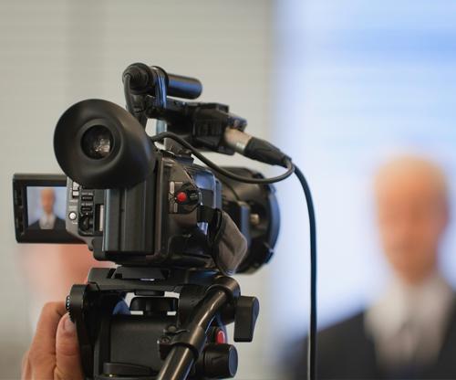 cámara vídeo corporativo