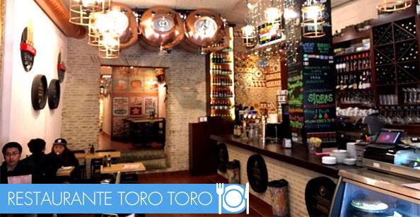 Restaurante Toro Toro en Sevilla, cena de empresa en sevilla