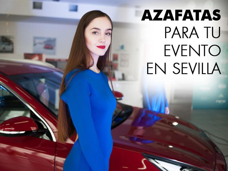 Azafatas para eventos en Sevilla