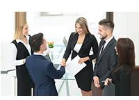 reunión con el cliente